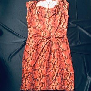 Michael Kors snake print dress